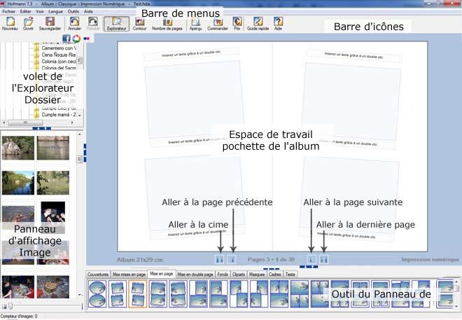 Fonctionnement du logiciel Hofmann
