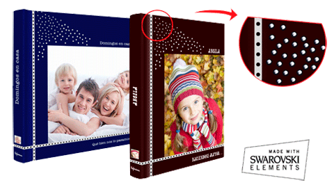Livre Photo Swarovski impression papier photo (21x29)
