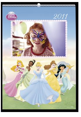 Calendrier mural Princesses Disney (30x45)