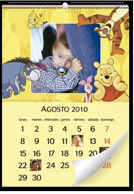 Calendrier mural Winnie the Pooh (30x45)