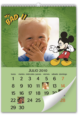 Calendrier mural Mickey Mouse (30x45)