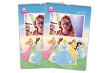 Calendrier Princesses Disney (22x30)