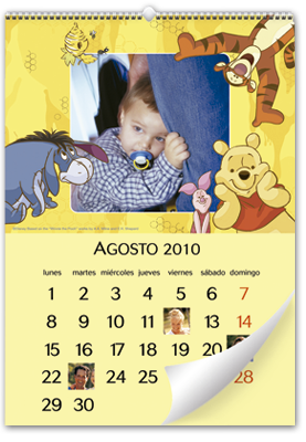 Calendrier Disney Winnie the Pooh (22x30)