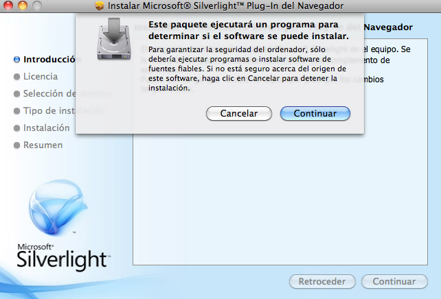 descargar silverlight hofmann para mac